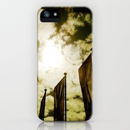 Feed me Clouds iPhone Case