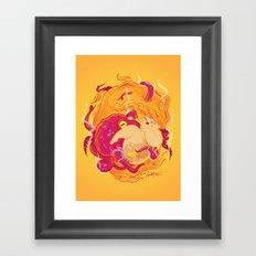 I'm on fire Framed Art Print