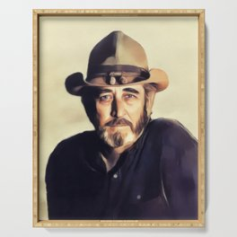 Don Williams, Music Legend Serving Tray