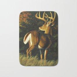 Whitetail Deer Trophy Buck Bath Mat