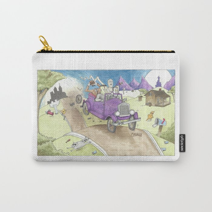 Monster Ride Carry-All Pouch
