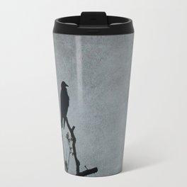 Majestic Crow Travel Mug