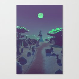They stay with us Canvas Print