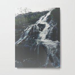 Glen Nevis Falls Metal Print