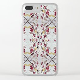 Cherries Still on the Branch Clear iPhone Case