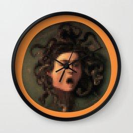 second life pixel art Wall Clock