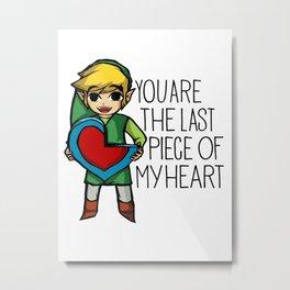 Legend Of Zelda The Last Piece Metal Print