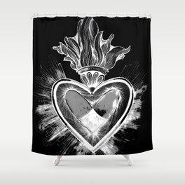 CUORE DI CRISTO Shower Curtain