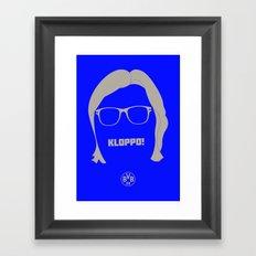 Kloppo Framed Art Print