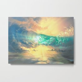 Sky Breaker Metal Print