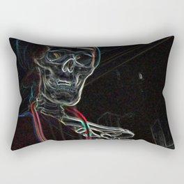 Neon Dr . Rectangular Pillow