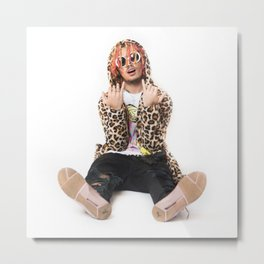 Lil Pump5 Metal Print