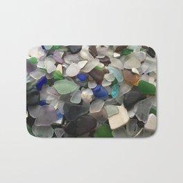 Sea Glass Assortment 1 Bath Mat