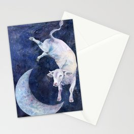 The Cow Jumped Over The Moon - II Stationery Cards