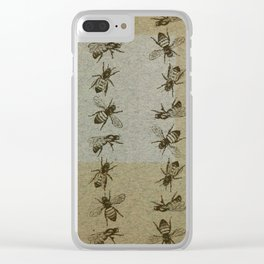 Bee Line Clear iPhone Case