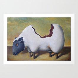 The Sheep's Back Art Print