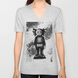 kaws air Unisex V-Neck