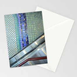 Detroit People Mover Art Cadillac Center Stationery Cards