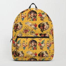 Makers Gonna Make Patter Gold Backpack