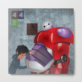 Big Hero 6 Fan Art Metal Print