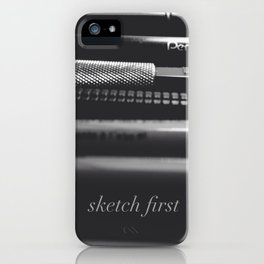 Sketch first iPhone Case