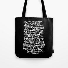 Matthew 5: The Beatitudes Tote Bag