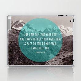 Isaiah 41:13 Laptop & iPad Skin