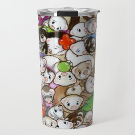 One Hundred Million Ferrets Travel Mug