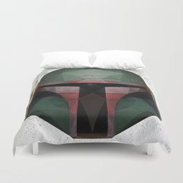 Boba Fett Low Poly Duvet Cover