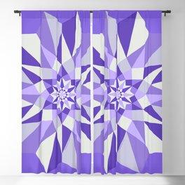 Diamond Purple Mandala Blackout Curtain