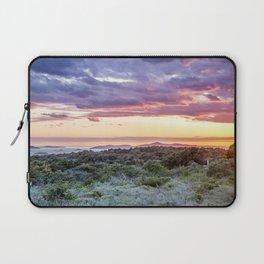 colorful sunset over the Ciovo island, Croatia Laptop Sleeve