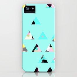 tringle mix/ bright iPhone Case