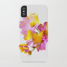 New Mixed Era -  Purple Faced Flower iPhone Case