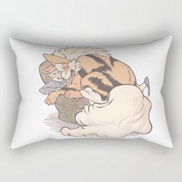 Arcanine hug Rectangular Pillow