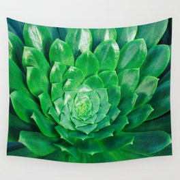 Botanical Gardens - Succulent #686 Wall Tapestry