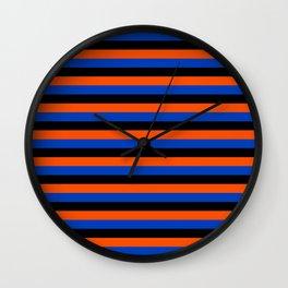 Color Stripe _001 Wall Clock