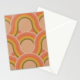 Rollin' Retro Road in Peachy Keen Tetxtured Stationery Cards