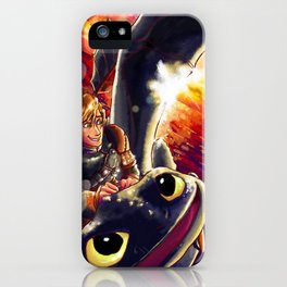 Flying into the Sunset iPhone Case