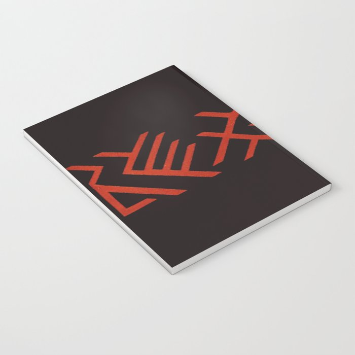 Black and Red Notebook