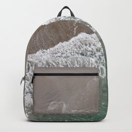 Wrightsville Beach Waves Backpack