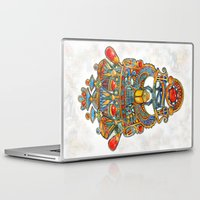 egypt Laptop & iPad Skins featuring Egypt - painting by oxana zaika