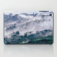 vietnam iPad Cases featuring Foggy Mountain of Sa Pa in VIETNAM by CAPTAINSILVA