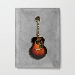 SJ-200 Acoustic Guitar 1948 Metal Print