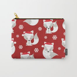THE SPELL OF THE CHRISTMAS FOXES Carry-All Pouch
