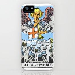20 - Judgement iPhone Case