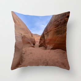 Colorful Canyon - 3, Valley of Fire State Park, Nevada Throw Pillow