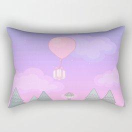 Animal Crossing Evening Rectangular Pillow