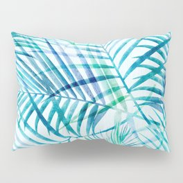 Tropical Palm Pattern Pillow Sham