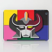 power rangers iPad Cases featuring Megazord-Rangers by EdwardJ