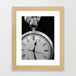 Never Enough Time Framed Art Print